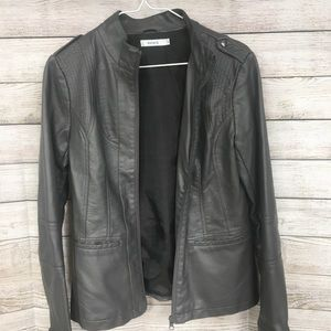 RICKI'S Faux Leather Jacket Size 6
